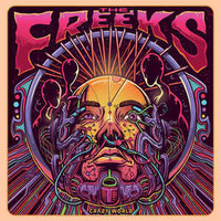 FREEKS   - Crazy World (fuzz psych)  CD