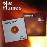 FLAMES  - Burning Soul & Soulfire (Rare 60s psychedelic soul)CD