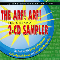 ARF! ARF! - El Cheapo 2-CD Sampler   60's psych ) DBL COMP  CD