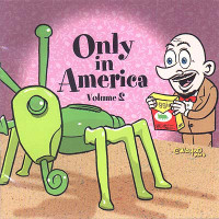 ONLY IN AMERICA Vol 2  (Zany and downright weird period pieces ) COMP CD