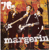 MARGERIN  -76 (french GARAGE/PUNK trio)  CD