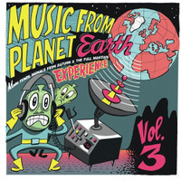 "MUSIC FROM PLANET EARTH  -VOL 3 Moon Tunes, Signals From Saturn & The Full Martian Experience (10"")   COMP LP"