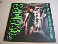 CRAMPS   -HOT PEARL RADIO BROADCAST-LIVE ZURICH 1986 -  LP