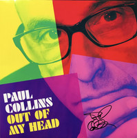 COLLINS, PAUL - Out of My Head -50 ONLY ! Numbered AUTOGRAPHED STARBURST VINYL BUNDLE