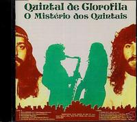 QUINTAL DE CLOROFILA  - O Mistério Dos Quintais ((1983 Argentine psych folk )  CD