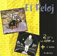 EL RELOJ  - FIRST ALBUM AND SECOND ALBUM  (70s  Argentina premiere hard rock )  CD