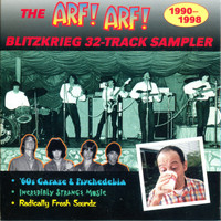 ARF! ARF! BLITZKRIEG  (60's psych/ glam/ and oddities) COMP CD