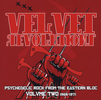 VELVET REVOLUTIONS  VOL. 2: 1968-1971 VA  (Iron Curtain 60s psych!) COMP CD