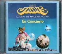 LOS JAIVAS   -Alturas de Macchu Picchu en conciert (Live 1998 Chilean Prog)CD