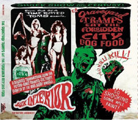 GRAVEYARD TRAMPS EAT THE FORBIDDEN - Vol.1 CITY DOGFOOD  obscure rockabilly, surf and R&B tracks)-   COMP CD