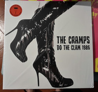 CRAMPS, THE  - DO THE CLAM - 1986 DOUBLE LP