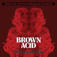 BROWN ACID  - THE  SEVENTH  TRIP (HEAVY ROCK FROM THE UNDERGROUND COMEDOWN)COMP LP