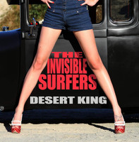 INVISIBLE SURFERS  - Desert King (Surf R&R)   CD