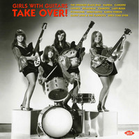 GIRLS WITH GUITARS TAKE OVER -  180-GRAM  ORANGE VINYL   COMP LP