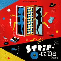 STRIP-O-RAMA + CD  Vol 3 (Delicious 50s and 60s tunes)COMP LP