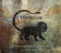 Envelopes of Yesterday  -The Manticore Records Anthology 1973-1976-  COMP CD