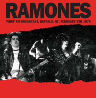 RAMONES   - WBUF FM Broadcast NY, February 8th 1979  w. background notes & rare photos-   CD