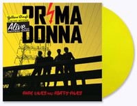 PRIMA DONNA  - Nine Lives and Forty Fives (Brit invasion style ROCK AND ROLL! ) LTD ED of 150 YELLOW VINYL -  LP