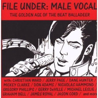 FILE UNDER MALE VOCAL  - VA - Last copies- SALE -  COMP CD