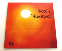 RICE, LARRY - Here's Sunshine (Texas 60s )180 gram w insert  ONE ONLY! LP