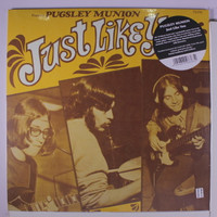 PUGSLEY MUNION  -Just Like You (W insert, 1970 U.S. private press blues psych) LP