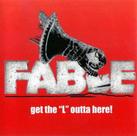 "FABLE - Get The ""L"" Outta Here (STONER Hendrix style w. insert, ad photos)DBL LP"