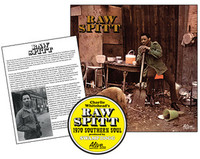 WHITEHEAD, CHARLIE   - Raw Spitt - (Swamp Dogg Archive Series # 5) Classic BLACK vinyl plus liner note flier written by Swamp Dogg -  LP