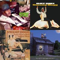 SWAMP DOGG 4 CD BUNDLE - White Man Made Me Do it,  Rat On, Gag A Maggot, Total Destruction-