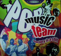 POP MUSIC TEAM-Society Is A Shit- Paper mini slv replica (ultra rare Mexican  60s psych) CD