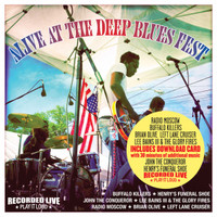 ALIVE AT THE DEEP BLUES FESTIVAL   - Classic black vinyl w/ insert and download card (30 minute of additional music) -   LP