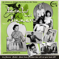 SAINTS AND SINNERS Vol 5 -16 Obscure Rockin' Shots That Will Cut Your Head Off!!!Repress of 300 copies 180 GRAM COMPLP