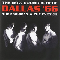 DALLAS 66- ESQUIRES & THE EXOTICS - The Now Sound is Here  (including rare radio promos & unreleased material psych-pop gems )CD