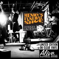 HENRY'S FUNERAL SHOE -Donkey Jacket (for RADIO MOSCOW FANS!)LAST COPIES(SLIGHT CORNER TWEAK)  CLEAR VINYL! LP