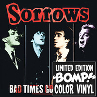 SORROWS - Bad Times Good Times (70s POWERPOP) RED VINYL LP