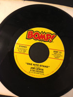 LEWIS, JIMMY & Checkers  - One Night Stand/  (Twilley related powerpop !)   45 RPM