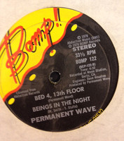 PERMANENT WAVE  - Radar EP  (original pressing of rare 70s powerpop )    45 RPM