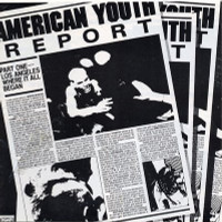 AMERICAN YOUTH REPORT - VA  Bad Religion, Channel 3, Adolescents, Lost Cause, Flesheaters, Descendents, T.S.O.L., Red Kross, Minutemen( L.A. 80s Punk) COMPCD