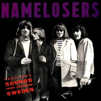 "NAMELOSERS  - Fabulous Sounds From Southern Sweden (60s garage- complete collection of 7"", flexi and unreleased tracks)CD"