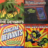 FARREN, MICK /DEVIANTS-  4 CD BUNDLE!