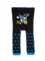 Black Star Ship Leggings