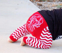 Lobster Cotton Leggings
