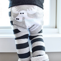Moose Stripes Leggings