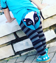 Woodland Skunk Cotton Leggings