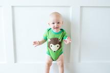Woodland Hedgehog Bodysuit