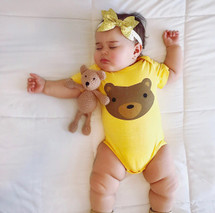 Woodland Bear Bodysuit