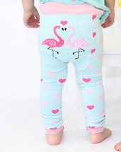 Flamingo Cotton Leggings