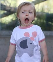 Pink Elephant Shirt