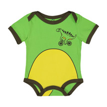 Dino Green Bodysuit