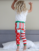 Holiday Elf Feet Leggings