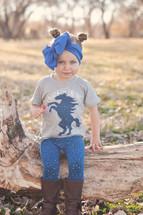 Southwestern Celestial Pony Shirt